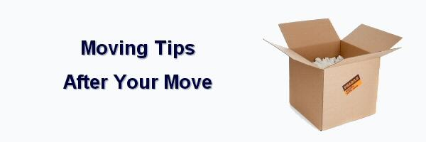 Moving Tips: After Your Move Checklist from York PA Movers Warners Moving & Storage
