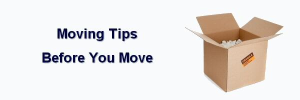 Checklist of Moving Tips to follow Before Your Move from Warners Moving in York county, PA